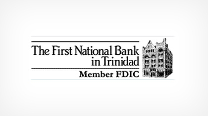 The First National Bank In Trinidad logo