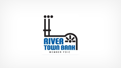 River Town Bank logo
