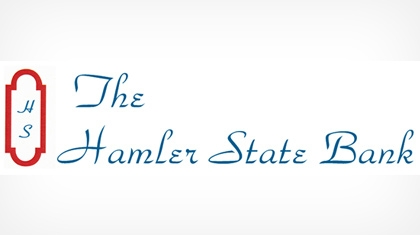 The Hamler State Bank logo