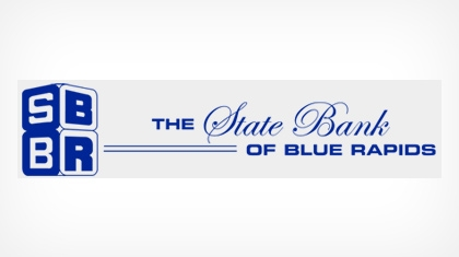 The State Bank of Blue Rapids Logo