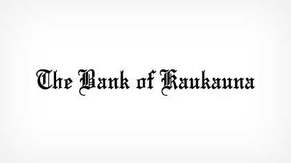 The Bank of Kaukauna logo