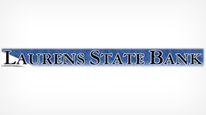 Laurens State Bank logo