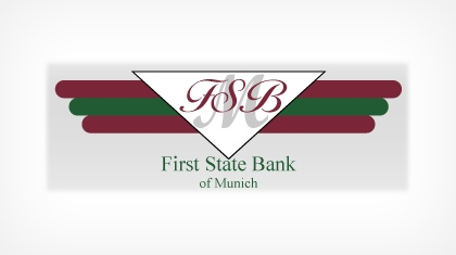The First State Bank of Munich logo