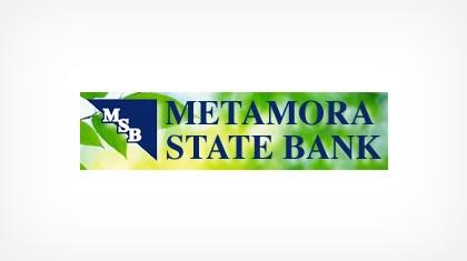 The Metamora State Bank logo