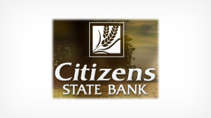 The Citizens State Bank of Finley logo