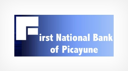 First National Bank of Picayune logo