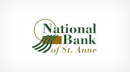 National Bank of St. Anne logo