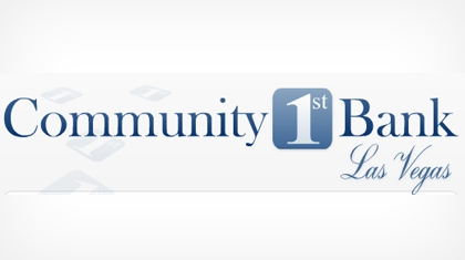 Community 1st Bank Las Vegas Logo