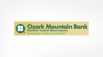 Ozark Mountain Bank logo
