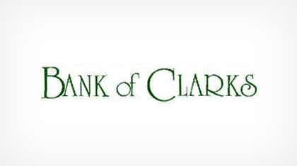 Bank of Clarks logo