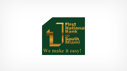 The First National Bank of South Miami logo