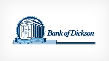 Bank of Dickson logo