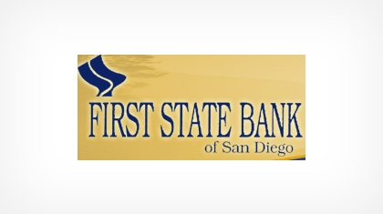 First State Bank of San Diego logo