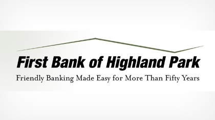 First Bank of Highland Park logo