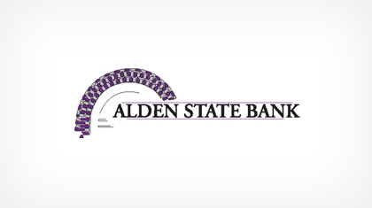 The Alden State Bank logo