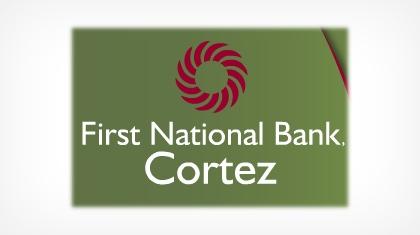 First National Bank, Cortez logo