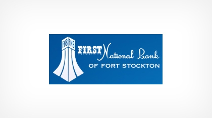 First National Bank of Fort Stockton logo