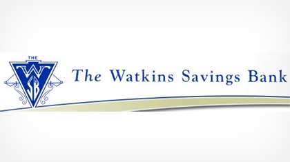 The Watkins Savings Bank logo