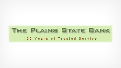 The Plains State Bank logo