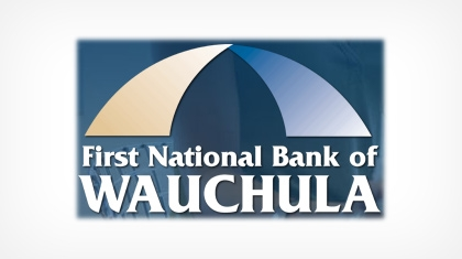 First National Bank of Wauchula logo