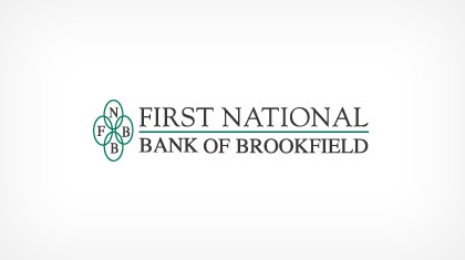 First National Bank of Brookfield logo