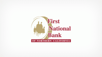 First National Bank of Northern California logo