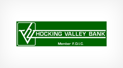 The Hocking Valley Bank logo