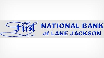 First National Bank of Lake Jackson logo