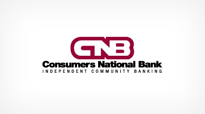 Consumers National Bank logo