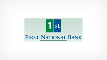The First National Bank of Mchenry logo