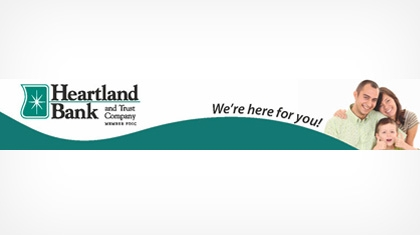 Heartland Bank and Trust Company logo