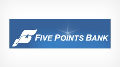 Five Points Bank logo