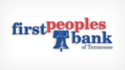 First Peoples Bank of Tennessee logo