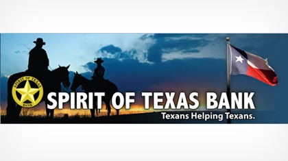 Spirit of Texas Bank, Ssb logo