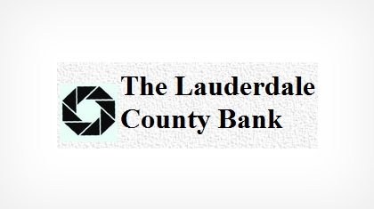 The Lauderdale County Bank Logo