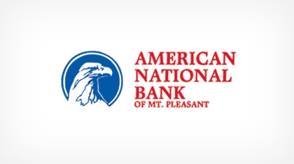 The American National Bank of Mount Pleasant Logo