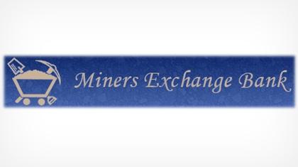 Miners Exchange Bank Logo