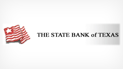 The State Bank of Texas logo