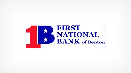 First National Bank of Benton logo