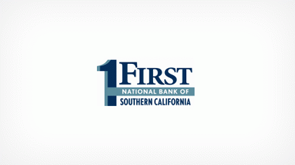 First National Bank of Southern California logo