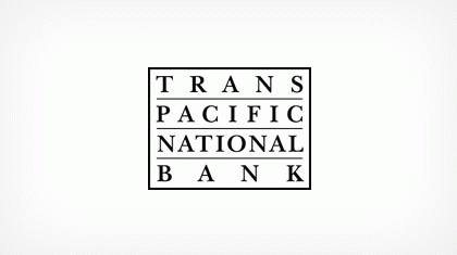 Trans-pacific National Bank Logo