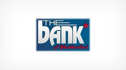The Bank (Weatherford, TX) logo