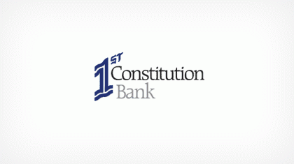 1st Constitution Bank logo