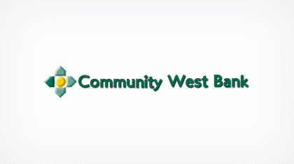 Community West Bank, National Association logo