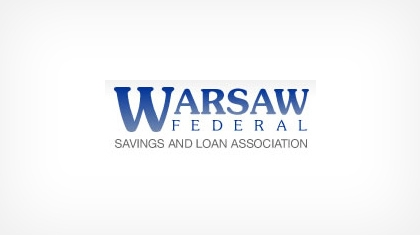 Warsaw Federal Savings and Loan Association logo
