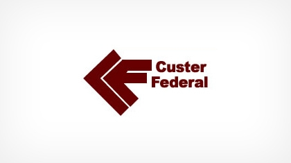 Custer Federal Savings and Loan Association logo