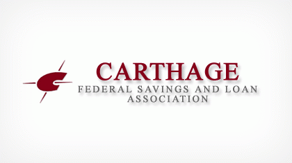 Carthage Federal Savings and Loan Association logo