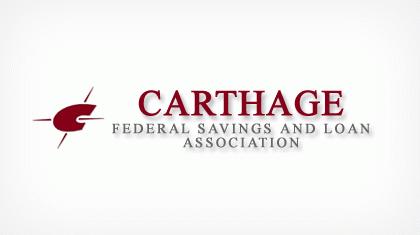Carthage Federal Savings and Loan Association Logo