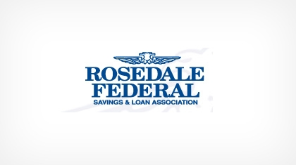 Rosedale Federal Savings and Loan Association logo