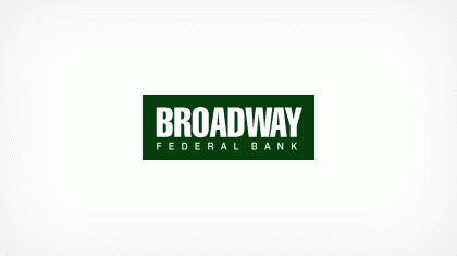 Broadway Federal Bank, F. S. B. Logo
